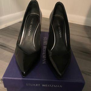 Stuart Weitzman Recipe Jet Mirror Heels
